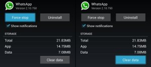 corregir virus whatsapp