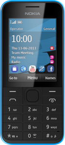 Nokia-207-front
