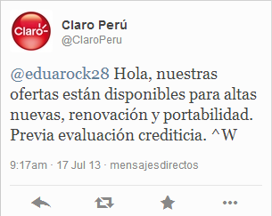 tuit claro cyber peru day