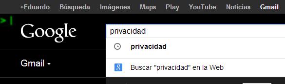 privacidad gmail
