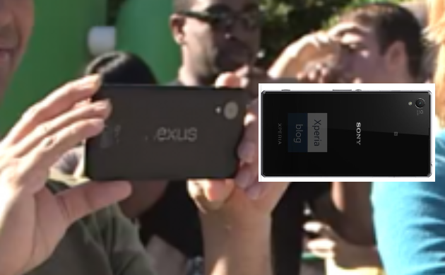 Nexus_5_Leak_compare_Xperia_Z1_Google_Android_KitKat_Video_02