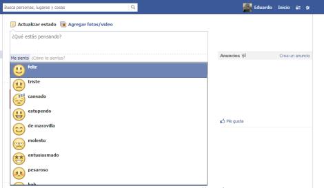 Actualizado Tutorial Actualiza Tu Estado De Facebook Con Emoticones Desde Tu Android Gadgerss