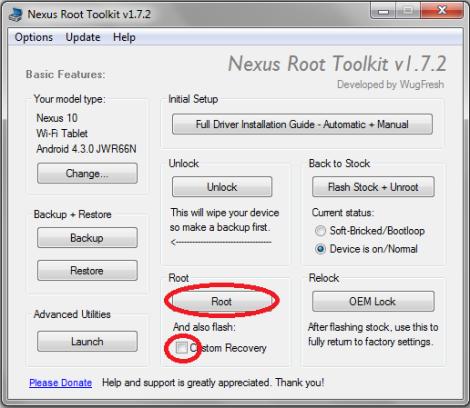 Rootear Nexus