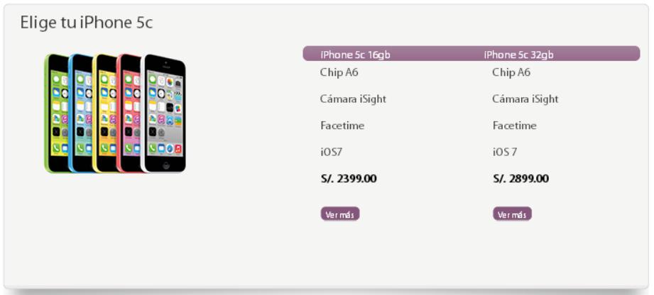 precios iphone 5c iplace